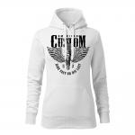 184 – American Custom – Ride fast or die last – mikina_damska_cierna
