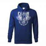 189 – American Custom – Ride fast or die last – Orol – mikina_panske_cierna