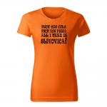 ID0108 – vtipne – all_I_need_is_Slivovica – 02 – tricko_damske_modra