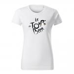 ID0110 – vtipne – le_tour_de_beer – tricko_damske_modra
