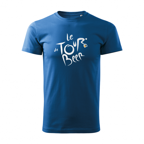 ID0110 – vtipne – le_tour_de_beer – tricko_panske_modra