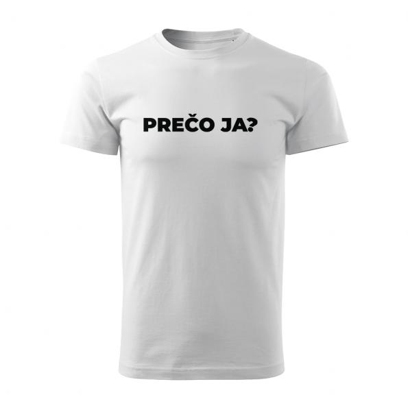 ID0113 – vtipne – preco_ja – tricko_panske_biela