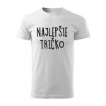 ID0128 – vtipne – najlepsie_tricko – tricko_panske_cervena