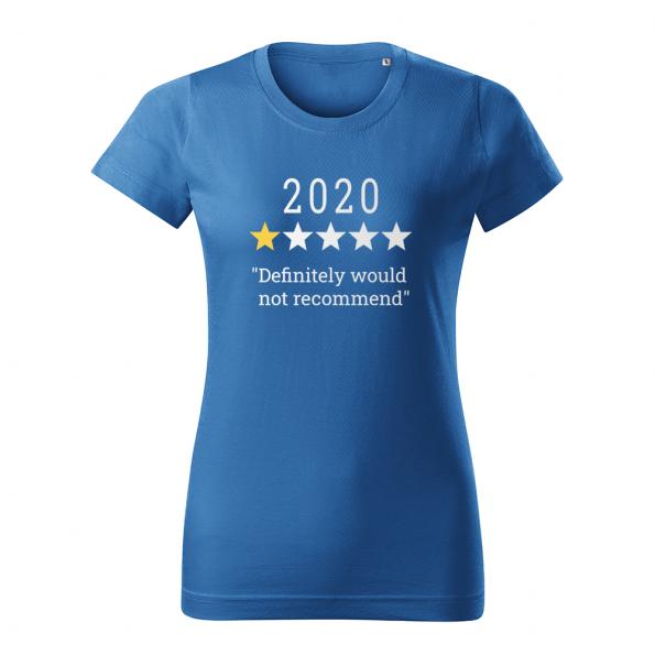 ID0132 – vtipne – 2020 – tricko_damske_modra