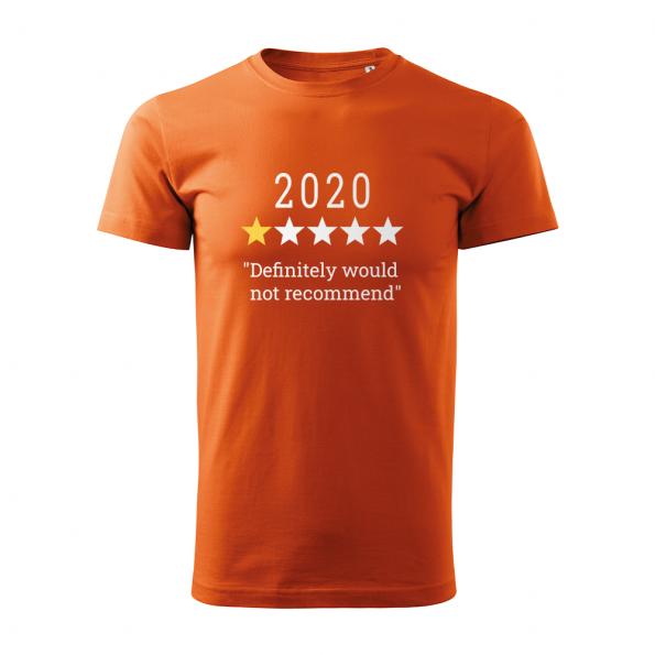 ID0132 – vtipne – 2020 – tricko_panske_oranzova