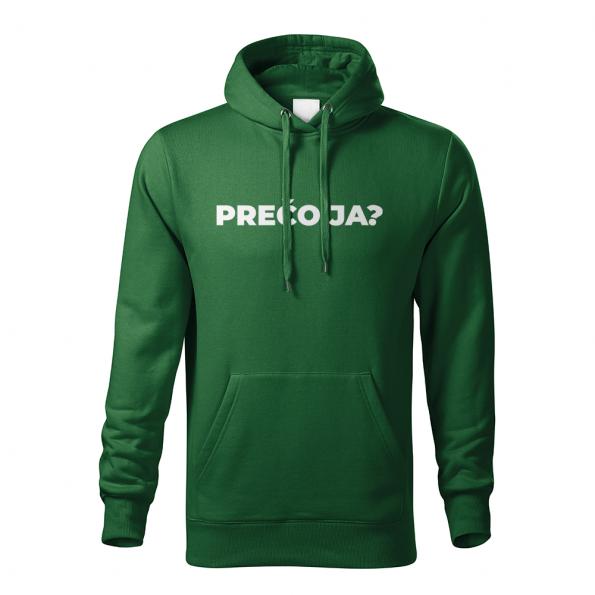 ID0113 – vtipne – preco_ja – mikina_panske_zelena