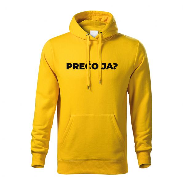 ID0113 – vtipne – preco_ja – mikina_panske_zlta