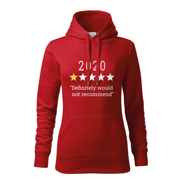 ID0132 – vtipne – 2020 – mikina_damska_cervena