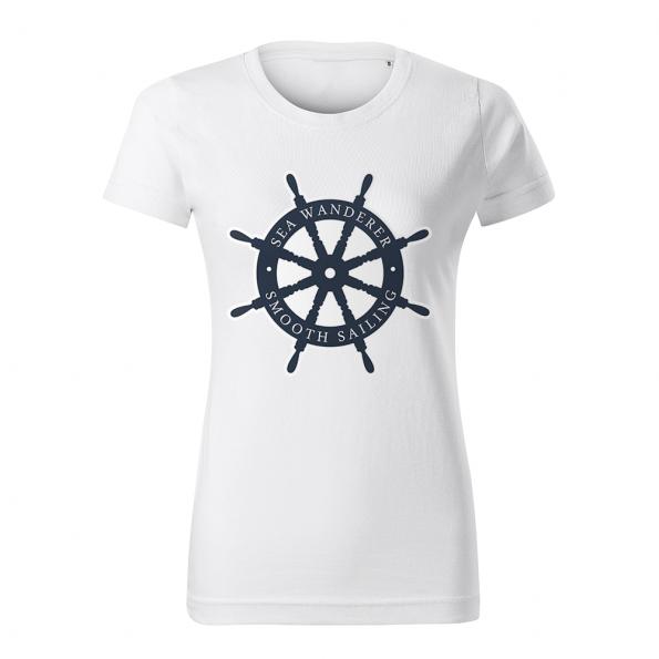 ID0224 – namornicke – tricko_damske_biele_sea_wanderer_smooth_sailing