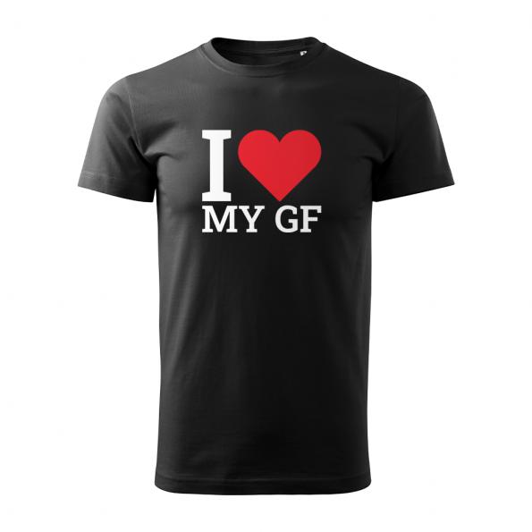 ID0410 – I_love_my_GF – tricko_panske_cierna