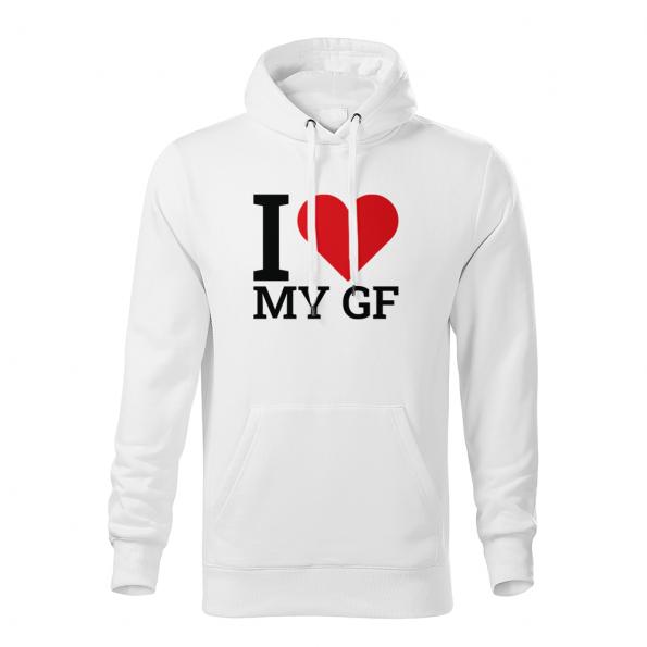 ID0411 – I_love_my_GF_BF_PAR – mikina_panske_biela