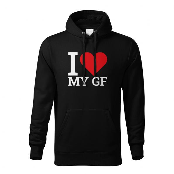 ID0411 – I_love_my_GF_BF_PAR – mikina_panske_cierna