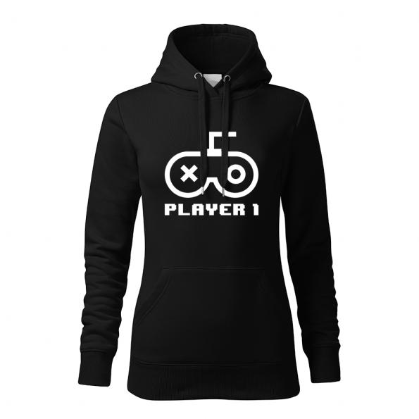 ID0420 – Player – mikina_damska_cierna