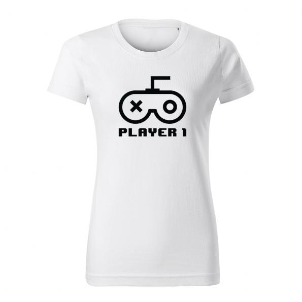 ID0420 – Player – tricko_damske_biela